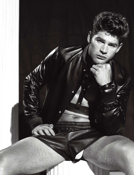 Leather  Doug Inglish Numero Homme-China issue5 FW2012Ryan Bertroche