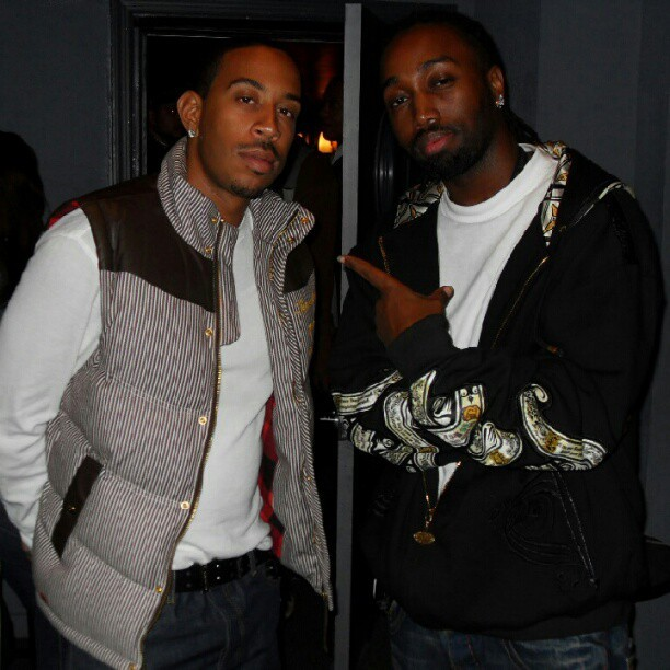 Me and the homie @Ludacris… Surprisingly quit brotha sick MC to. #TBT  (Taken with Instagram)