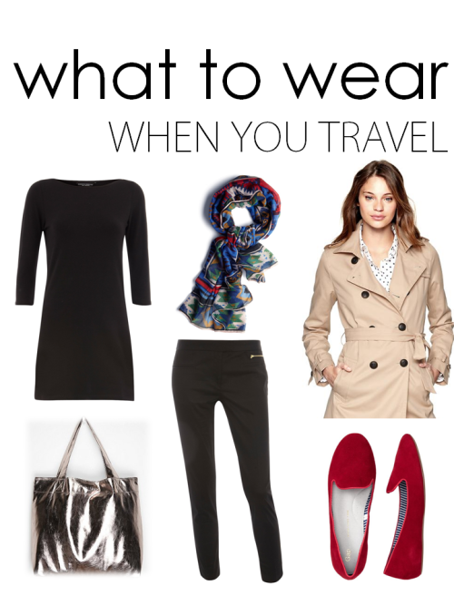 When you're traveling, it's best to wear clothes that are both comfortable and stylish, because you never know where you'll go or who you'll meet on your journey. I have road-tripped from West Texas to New York City twice, and during that time I needed outfits that I could fall asleep in, and go to lunch wherever we stopped that day. The same goes for air travel. Recently, on my trip to Chile, we arrived in the city of Santiago at 8am, but our hotel could not check us in before 2pm. The clothes I had flown in were also the clothes of my first few meals and sightseeing tours of the city. Note to self: good job on that one. Shop this look!