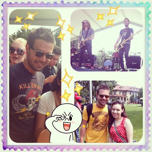 today was awesome! saw #wethekings and met Charles! #ctfxc #nyc #queens ✨🎶✌🎸🎤 (Taken with Instagram)