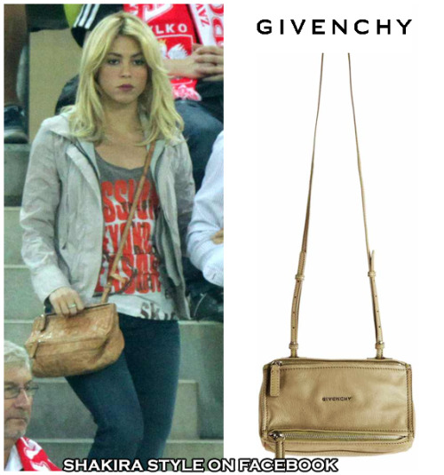 brown Givenchy Mini Pandora Messengerprice: around $1,100 visit & like Shakira style on Facebook