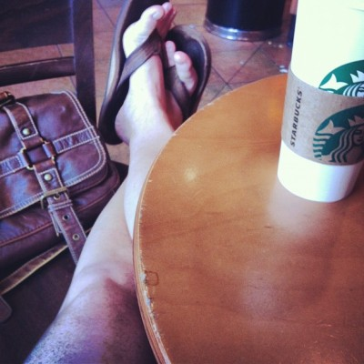 Kickin it in the bux this afternoon. The usual day off. #starbucks #pikeplace (Taken with Instagram)