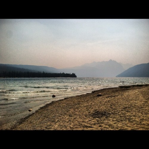 This could be my #home #photoadayaug (Taken with Instagram at Redfish Lake)