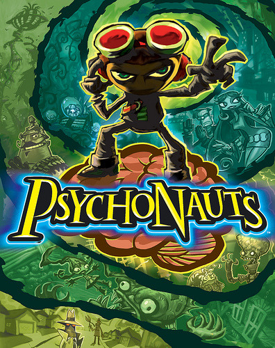 videogamenostalgia:  Psychonauts To Be Released On PSN As A PS2 Classic After 7 years, Double Fine Studios' debut hit, Psychonauts, is seeing a re-release on Playstation Network. The game was originally released in 2005 to much critical appraise, but poor sales, and has developed a cult following in the years since. Whether you never picked up Psychonauts on its initial release, or want to replay this modern classic, the game will be available for download via PSN in just five days on August 28th.