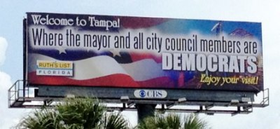 Welcoming the Republican National Convention to Tampa (via Ruth's List Florida)