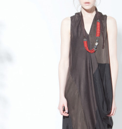 Trekker Dress, Huntress Necklace, Burning Torch Fall 2012 Lookbook
