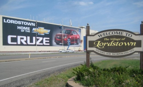 GM upgrading Ohio production facility for 2015 Chevrolet Cruze via Car and Driver