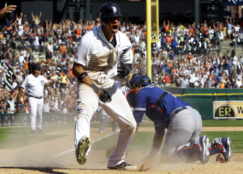 Tigers walk off with a series sweep on 8/23.