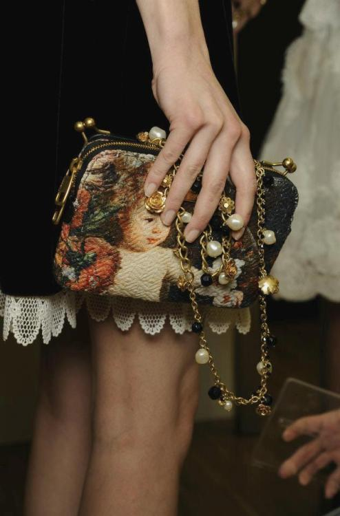 the-front-row:  Dolce and Gabbana fall/winter 2012