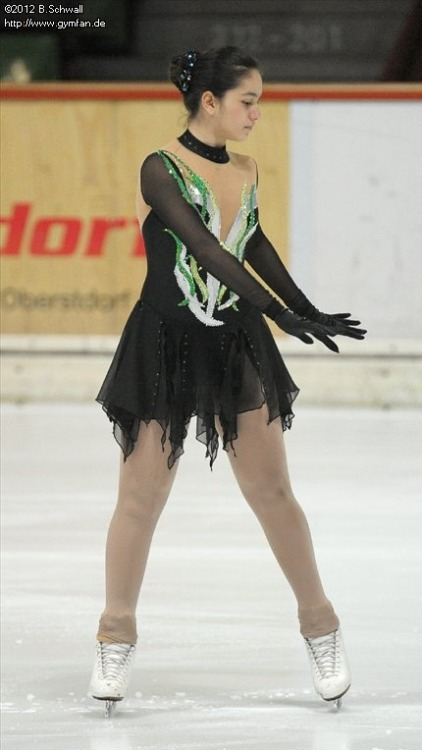 Yagmur Aksoy's short program costume at the 2012 Novice Bavarian Open.