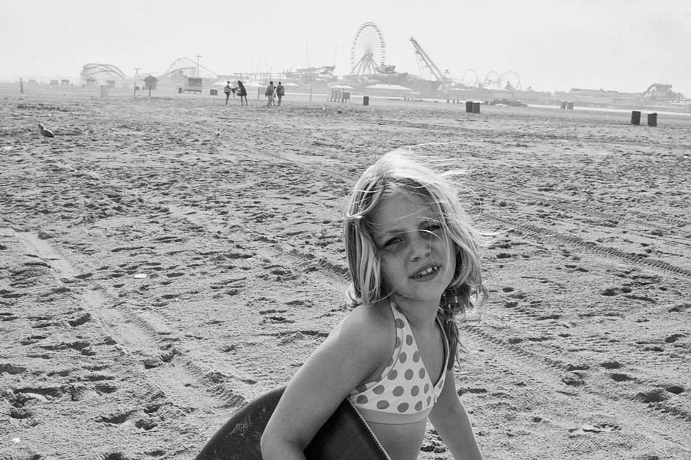 My adorable niece #3, Wildwood, NJ 2012 Copyright © John Danner