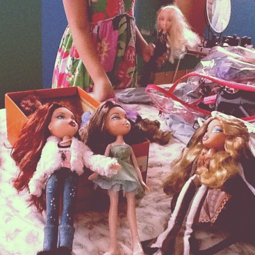 Passing down all the dolls I used to play with to my niece 💁 (Taken with Instagram)