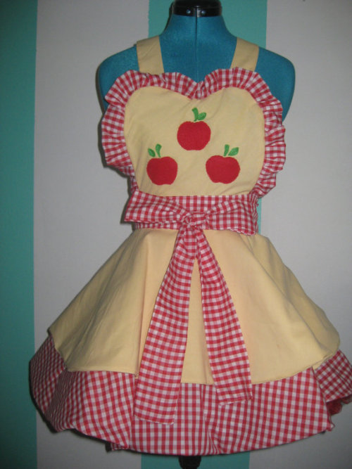 Applejack - My Little Pony - Inspired Cosplay Apron Pinafore Available for commission at : Darling Army
