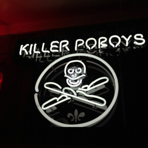 Killer Poboys. (Taken with Instagram)