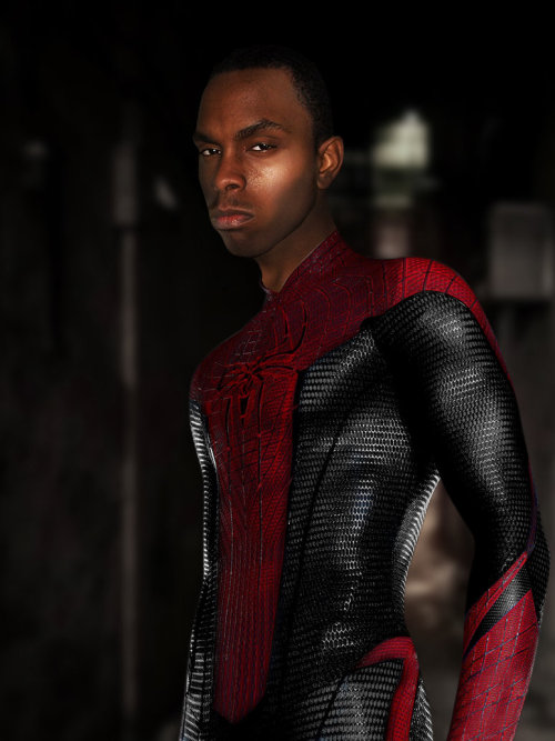 lospaziobianco:  New Ultimate Spider-man Miles M. Editby ~acdramon