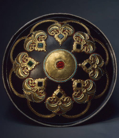 Ceremonial Shield from Qarth  Central Asia, 19th century The Hermitage Museum
