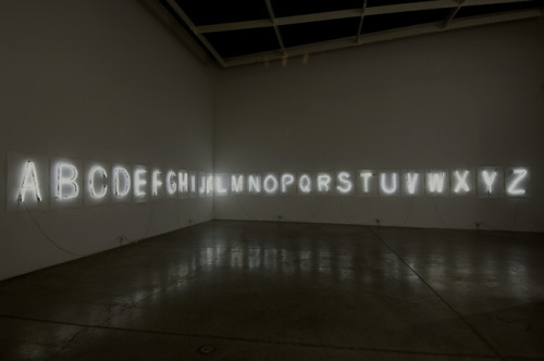 contemporary-art-blog:  Fiona Banner, Every Word Unmade, 2007Contemporary-Art-Blog