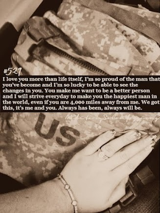 militarysoconfessions:  Confession #529: I love you more than life itself, I'm so proud of the man that you've become and I'm so lucky to be able to see the changes in you. You make me want to be a better person and I will strive everyday to make you the happiest man in the world, even if you are 4,000 miles away from me. We got this, it's me and you. Always has been, always will be.  Photo submitted by ashleyy-tayylor  My confession