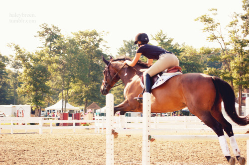 haleybreen:  me and baby nemonster <3 fieldstone photo by qwertzponies summer '12  summer summer