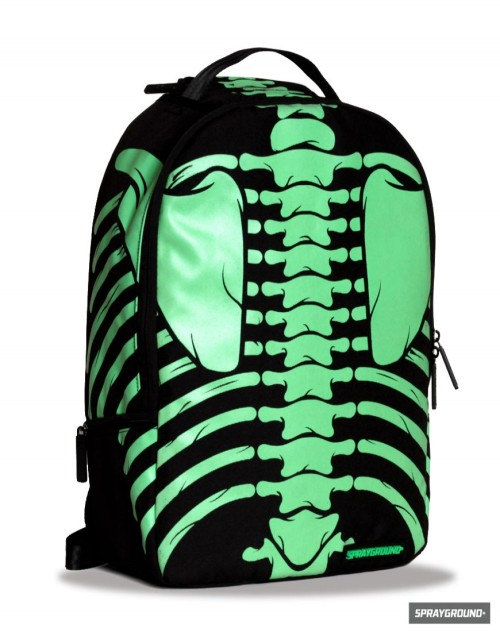 fuckyeahmedicaldiagrams:  Bones (Glow-In-The-Dark) Backpack by Sprayground