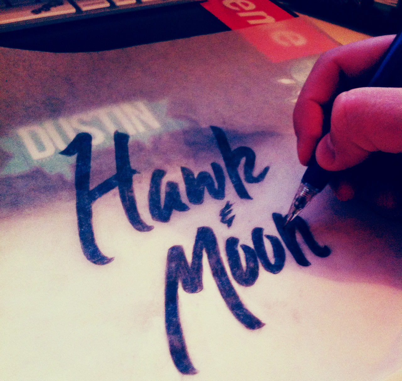 Working up some new #handlettering #typography #graphicdesign #logo