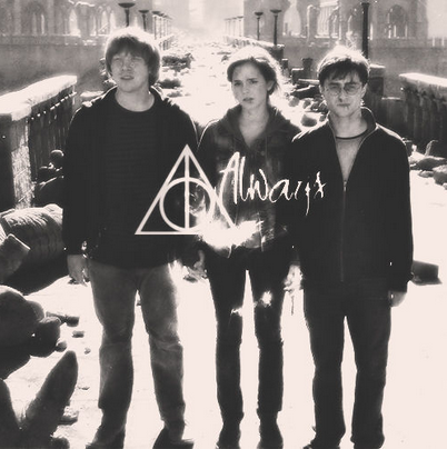 deepmindwander:  Always a potter head!:D