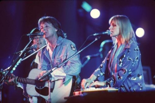 Paul and Linda McCartney, 1993
