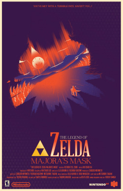 The Legend of Zelda: Majora's Mask by Marinko Milosevski