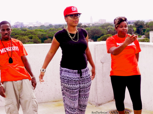 "On Set @1987MusicGroup 1st Offical Video ""Press Release"" Saturday Ft. @LuckyLiveMusic Photos By @80sDarkNiss"