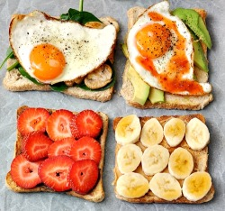 phoods:  (via Toasts – 4 Ways | Fuss Free Cooking)