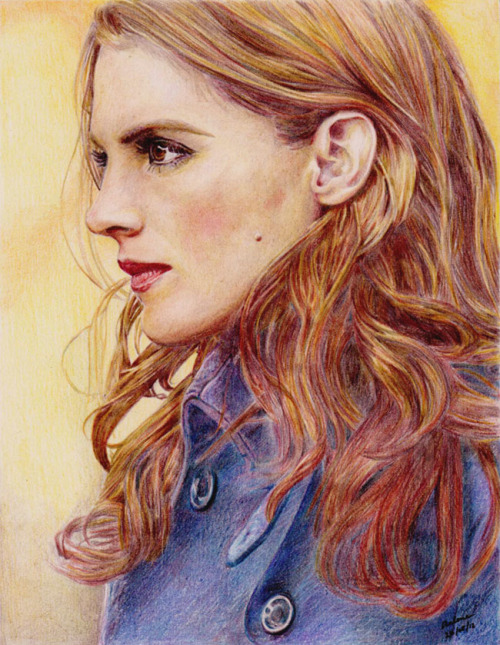 pencilpanda:  @Stana_Katic - Coloured pencils on Bristol (and a black pigment liner for the pupil). After a month of on and off drawing I can finally say. FINISHED! I didn't mean to turn this into my summer project, it kinda became one on its own. Also, I still don't like drawing hair… :p Please don't post/use this anywhere without my permission.  This is absolutely phenomenal. Just gorgeous. You are so talented.