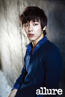CNBlue's MinHyuk for Allure