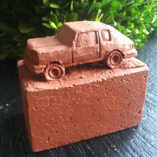 Brick..#ceramic #homemovement #keithsimpson #art #goingfast (Taken with Instagram at Opal Stackhouse)   $45 each!!