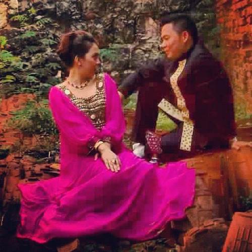 Prenup photo. :)  (Taken with Instagram)