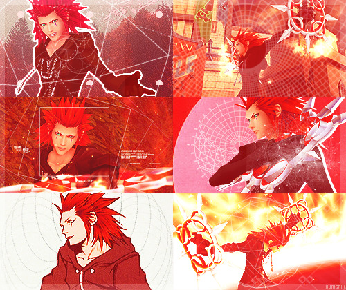 colour meme → axel + red (asked by thecastlethatneverwas)