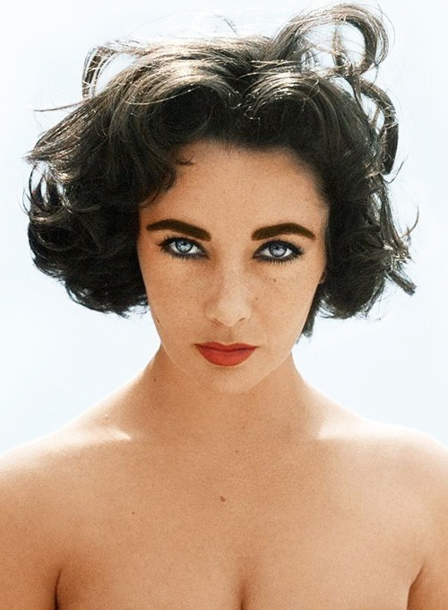 Liz Taylor would have stopped your heart in her day….