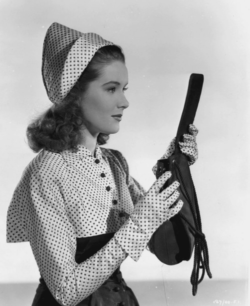 Sally Ann Howes, 1940s.