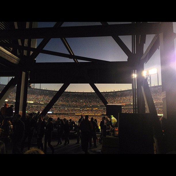 Giants game with the @Storenvy team. (Taken with Instagram at AT&T Park)