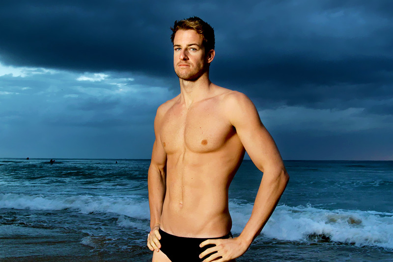 Australian swimmer James Magnussen