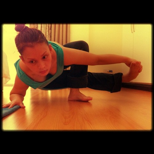 fatmamadoesyoga:  I have no idea what this is called… (Taken with Instagram)