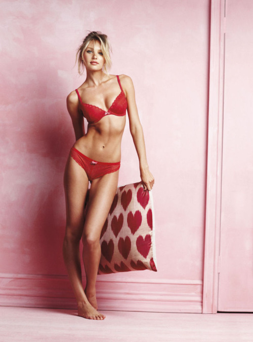 "It's not so much about the lingerie, but Candice Swanepoel sizzled in last year's Victoria's Secret ""Love Me"" Ad Campaign. She has graced the cover of almost every major fashion magazine so keep a look out for her this fall."