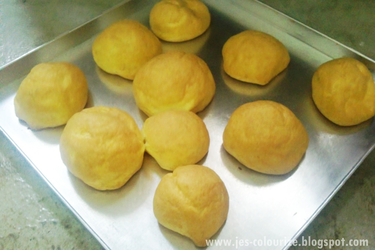 My home made buns ^^!
