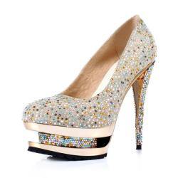 NEONICE Crystal Shoes Banquet Shoes Golden D049J Shining like diamond.   http://www.dressesinn.com/neonice-crystal-shoes-banquet-shoes-golden-d049j-p-5379.html