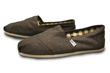 If you see a group of two or more men wearing matching TOMS, make a wish. It will be granted with 72 hours.