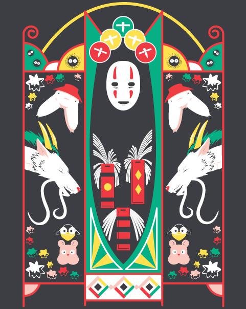 Spirited Deco by Ashley Hay Available for 24hrs only at ShirtPunch!