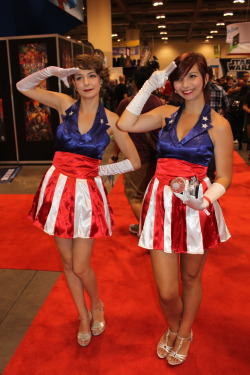 USO Captain America Girls, Fan Expo 2012