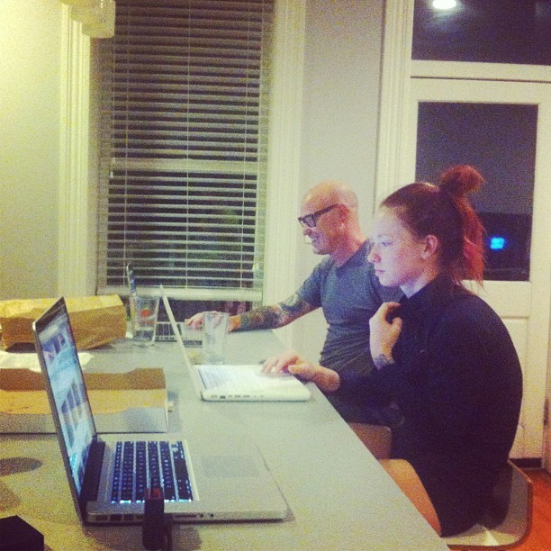 It's like we're at an Apple store. @hattiewatson @esuolcs  (Taken with Instagram at Bunse palace)