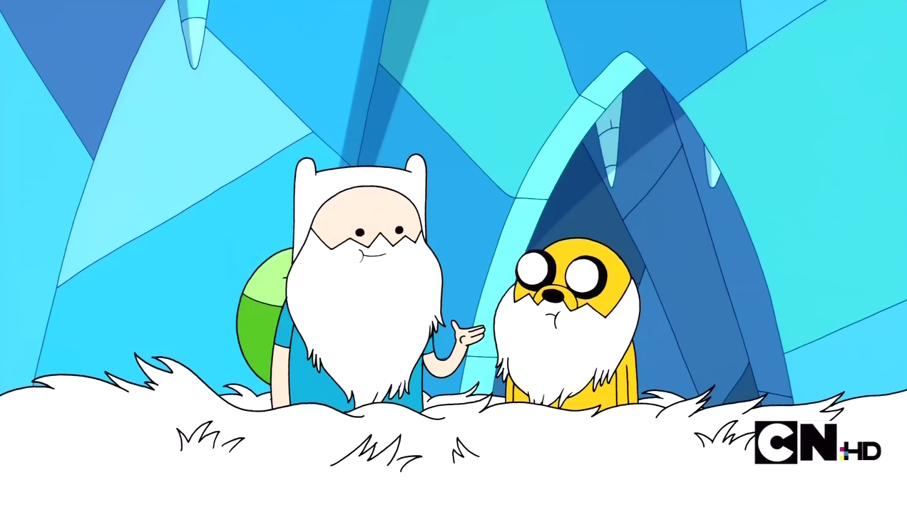 WE LOOK LIKE THE ICE KING!!!!