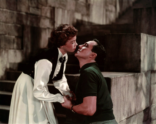 hedda-hopper:  Leslie Caron and Gene Kelly, An American in Paris (M-G-M, 1951)