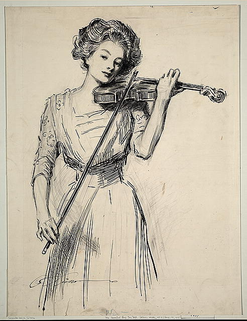 suicideblonde:  Gibson Girl
